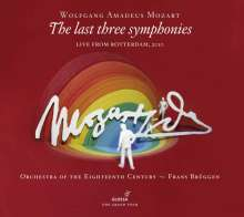 Wolfgang Amadeus Mozart (1756-1791): Symphonien Nr.39-41, 2 CDs