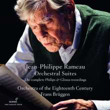 Jean Philippe Rameau (1683-1764): Suiten für Orchester, 4 CDs