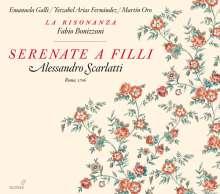 Alessandro Scarlatti (1660-1725): Serenata a Filli, CD