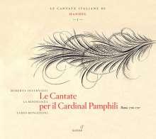 "Georg Friedrich Händel (1685-1759): Italienische Kantaten I - ""Le Cantate per il Cardinal Pamphili"", CD"