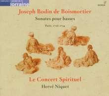 Joseph Bodin de Boismortier (1689-1755): Sonates pour basses (Paris 1726-1734), CD