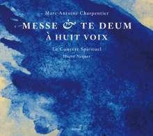 Marc-Antoine Charpentier (1643-1704): Messe a 8 voix et 8 violins et flutes H.3, SACD