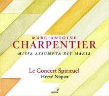 Marc-Antoine Charpentier (1643-1704): Missa Assumpta est Maria H.11, CD