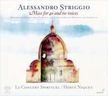 """Alessandro Striggio der Ältere (1536-1592): Missa """"Ecco si Beato Giorno"""" (Messe zu 40 & 60 Stimmen), Super Audio CD"""