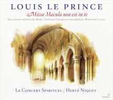 Louis Le Prince: Missa Macula non est in te (1663), CD