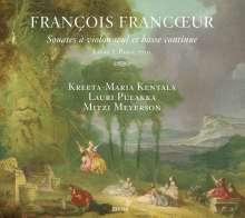 Francois Francoeur (1698-1787): Violinsonaten Nr.1-10 Livre 1 (Paris 1720), CD