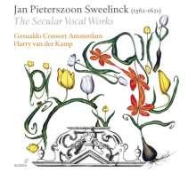 Jan Pieterszoon Sweelinck (1562-1621): Das weltliche Chorwerk, 3 CDs