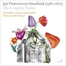 Jan Pieterszoon Sweelinck (1562-1621): Sämtliche Psalmen Davids (Bücher 1-4), 12 CDs