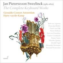 Jan Pieterszoon Sweelinck (1562-1621): Sämtliche Werke für Tasteninstrumente, 6 CDs