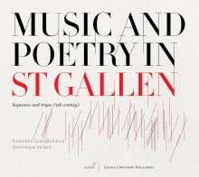 Music And Poetry in St.Gallen (Sequences and Tropes 9.Jh.), CD