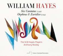 William Hayes (1708-1777): Cantatas I-VI (1748), 2 CDs