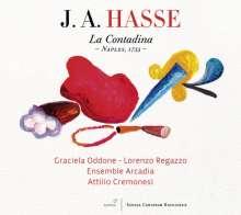 Johann Adolph Hasse (1699-1783): La Contadina, CD