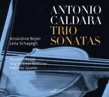 Antonio Caldara (1671-1736): Triosonaten op.1 Nr.4-6,12 & op.2 Nr.2,4,8,11, CD