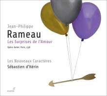 Jean Philippe Rameau (1683-1764): Les Surprises de l'Amour, 3 CDs