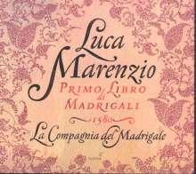 Luca Marenzio (1553-1599): Madrigali Libro 1, CD