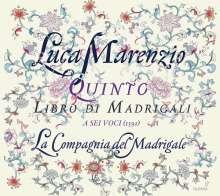 Luca Marenzio (1553-1599): Madrigali Libro 5 (1591), CD