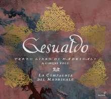 Carlo Gesualdo von Venosa (1566-1613): Madrigali a cinque voci Libro III, CD