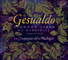 Carlo Gesualdo von Venosa (1566-1613): Madrigali a cinque voci Libro II, CD