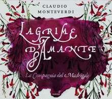"""Claudio Monteverdi (1567-1643): Madrigali """"Lagrime d'amante"""", CD"""