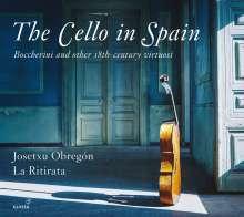 Josetxu Obregon - The Cello in Spain, CD