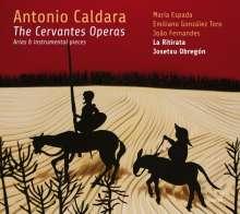 Antonio Caldara (1671-1736): Arien & Instrumentalstücke aus den Cervantes-Opern, CD
