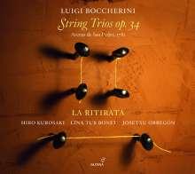 Luigi Boccherini (1743-1805): Streichtrios op.34 Nr.1-6, 2 CDs