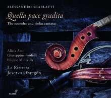 """Alessandro Scarlatti (1660-1725): Kantaten """"Quella pace gradita"""", CD"""