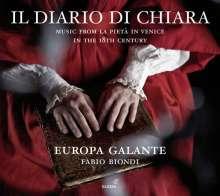 Il Diario di Chiara - Music from La Pieta in Venice in the 18th Century, CD