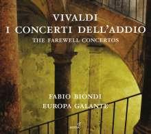 Antonio Vivaldi (1678-1741): Violinkonzerte RV 189, 273, 286, 367, 371, 390, CD