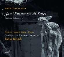 Francesco Feo (1691-1761): San Francesco di Sales (Bologna, 1734), 2 CDs