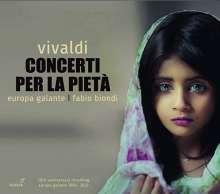 """Antonio Vivaldi (1678-1741): Violinkonzerte """"per La Pieta"""", CD"""