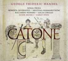 Georg Friedrich Händel (1685-1759): Catone (Pasticcio, London 1732), 2 CDs