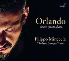 Filippo Mineccia - Orlando, CD