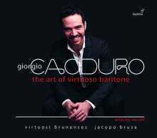 "Gioacchino Rossini (1792-1868): Arien & Szenen aus Opern ""The Art of Virtuoso Baritone"", CD"