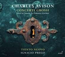 Charles Avison (1709-1770): Concerti nach D.Scarlatti Nr.5,6,9,12, CD