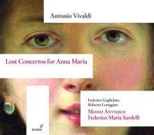 """Antonio Vivaldi (1678-1741): Violinkonzerte """"Lost Concertos for Anna Maria"""" RV 771, 772, 818, CD"""