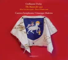 Guillaume Dufay (1400-1474): Messen, CD
