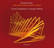 Heinrich Isaac (1450-1517): Missa Misericordias Domini, CD