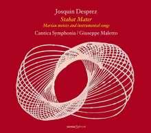 "Josquin Desprez (1440-1521): Marianische Motetten & Instrumentalstücke ""Stabat Mater"", CD"