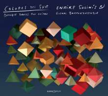 Colores Del Sur - Barocke Tänze für Gitarre, CD