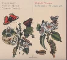 Perle del Piemonte - Violin Music in 18th-Century Italy, CD