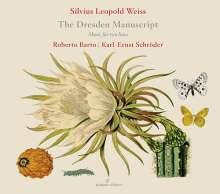 """Silvius Leopold Weiss (1687-1750): Sonaten für 2 Lauten """"The Dresden Manuscript"""", CD"""