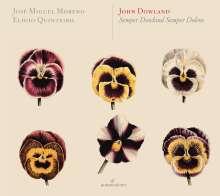 """John Dowland (1562-1626): Werke für Laute & Theorbe """"Semper Dowland semper dolens"""", 2 CDs"""