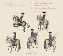 Giuseppe Antonio Brescianello (1690-1758): Concerti,Sinfonien & Ouvertüren, CD