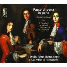 Flavio Ferri-Benedetti - Passo di pena in pena (Cantate italiane), CD