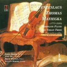 Wenzeslaus Matiegka (1773-1830): Grand Trios op.9 & 24 für Violine,Viola & Gitarre, 2 CDs