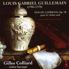 Louis-Gabriel Guillemain (1705-1770): Capricen op.18 Nr.1-12 für Violine solo, CD