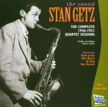 Stan Getz (1927-1991): 1946 - 1951 Vol. 1, CD