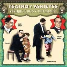 Tetro Y Varietes Vol 2: Ventriluocos y automata, CD