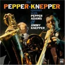 Pepper Adams & Jimmy Knepper: The Pepper-Knepper Quintet (180g) (Limited-Edition), LP